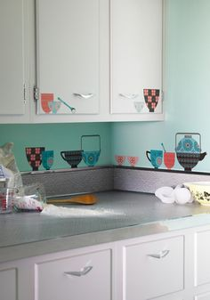 couldn't resist these stick-on teacup decals for my kitchen; i can't wait for them to get here!