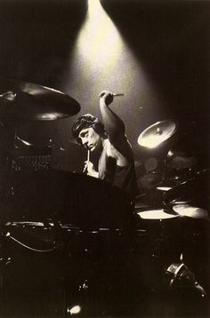 Neil Peart Roll the Bones Drums. Hard at play like always. :)