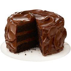 Devil's food cake by Nigella Lawson Death By Chocolate Cake, Chocolate Fudge Cake, Chocolate Frosting, Choco Chocolate, Fudge Frosting, Decadent Chocolate, Chocolate Hazelnut, Delicious Chocolate, Chocolate Lovers