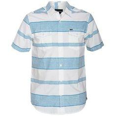 Hurley Casey Button Up Woven Shirt - Bay Blue
