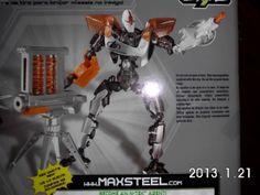 max steel cytro | Max Steel Cytro Arsenal Urbano Con 3 Lanzamisiles Y Garra