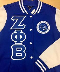 72cc66f3ffc Zeta Fleece Letterman Jacket – 3 Sisters Embroidery Delta Sigma Theta
