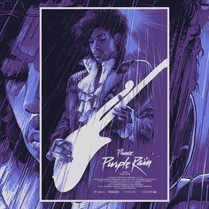 Prince - Purple Rain by Grzegorz Domaradzki