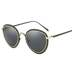 Women's Driving Sun Glasses Polarized Mirror Lens Luxury Ladies Designer Retro Sunglasses Eyewear For Women WD0822