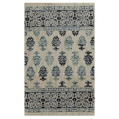 allen + roth Kincora Beige Rectangular Indoor Woven Area Rug (Common: 2 x 4; Actual: 2.1-ft W x 3.8-ft L x 0.5-ft Dia)