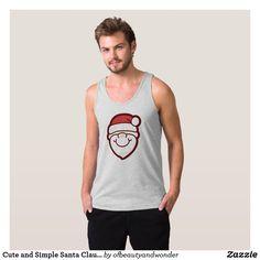 Cute and Simple Santa Claus | Tank Top