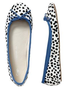 love these dot flats - from the gap!