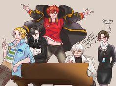 Draw your Squad Meme, Mystic Messenger Version - EXILLIA'S BLOG