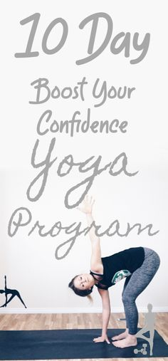 Yoga Poses & Workout : Boost your confidence in just 10 days with this Udemy Yoga Course! Guided yoga videos from 60 minutes – 10 journaling prompts for a daily confidence boost! Confidence Boost, Confidence Building, Fitness Tips For Women, Fitness Blogs, Home Beauty Tips, Beauty Hacks, Practicing Self Love, Yoga Anatomy, Yoga Lifestyle