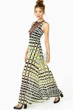 Staccato Maxi Dress by Nasty Gal