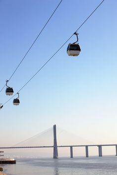 La Telecabine, el teleférico de Lisboa - 100 cosas sobre Lisboa que deberías…