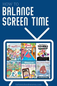 Do you want to know how to balance screen time as a family? Check out this list of books about screen time for kids and parents! Happy Reading, Reading Lists, Best Children Books, Childrens Books, Fun Learning, Learning Activities, Kids And Parenting, Parenting Hacks, Christian Book Store