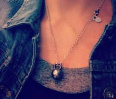 @Tessa McDaniel Ghirardelli For when you need workout inspiration lol - Silver Kettlebell Necklace