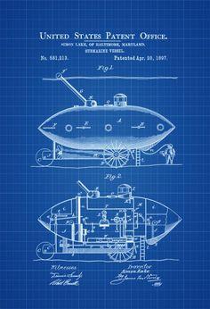 submarine-patent-print-1897-submarine-blueprint-vintage-submarine-submarine-poster-naval-art-sailor-gift-nautical-decor-navy-57ccdcbe1.jpg