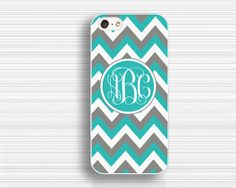 blue gray iphone 5s casechevron iphone 5 by case7style on Etsy, $7.99