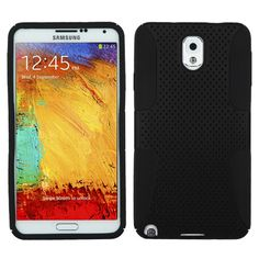 MYBAT Astronoot Protector Case for Samsung Galaxy Note 3 - Black/Black