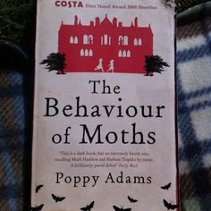 A freebee book from the library at Orsa Hotel. The story is a dark tale of a moth scientist who reveals her life to the present day. A captivating read with a strange twist at the end.  July 2012