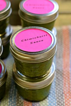 Chimichurri at the January 2016 Chicago Food Swap