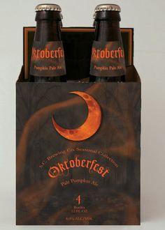 Oktoberfest Seasonal Beer Design/Packaging by Amanda Summers, via Behance #beer #packaging