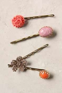 I have used bobbie pins since I was a kid. I love that they are still around and making a girly comeback!