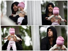 Cute and funny! The last pick looks like Jared got a nose full of dirty baby diaper!