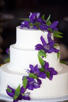 {Spring/Easter Wedding Cake