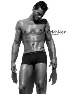 The actor + model shows his in a 2009 Calvin Klein Underwear campaign.  Photographed by Steven Klein. 997414dc53