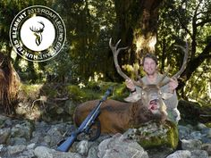 Nick Binks with a beasty Red Stag with a good set of antlers