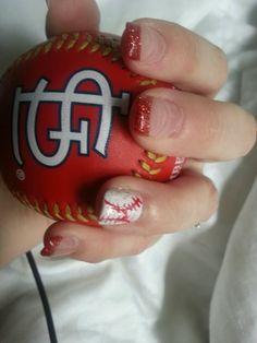 St Louis Cardinals nails!