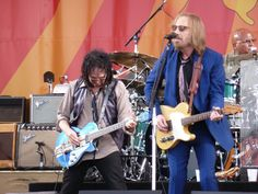 Mike Campbell + Tom Petty @ NOLA Jazz Fest 2012