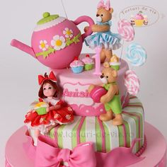 Candy cake for Anisia - Cake by Viorica Dinu