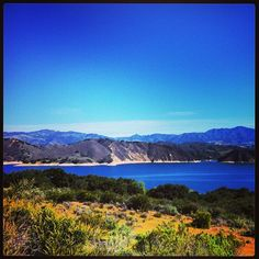 Gorgeous views from the Cachuma Lake in the Santa Ynez Valley. #VisitCA www.visitcalifornia.com