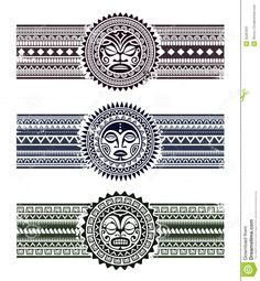 Polynesian Pattern Bracelets - Download From Over 47 Million High Quality Stock Photos, Images, Vectors. Sign up for FREE today. Image: 35287831