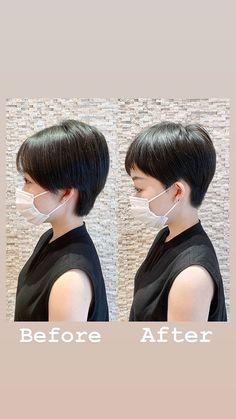 Asian Short Hair, Pixie Haircut, Short Hair Styles, Hair Cuts, Photo And Video, Shorts, Nice, Instagram, Haircuts