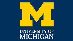 The University of Michigan logo is simple and concise. The basis is made ...