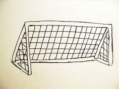 How+to+Draw+Soccer   How to Draw a Soccer Goal thumbnail