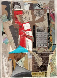 Back From England .... a small Collage by GlamGillStudios on Etsy, $100.00