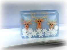 Ad: Homemade Rudolph Soaps for Christmas