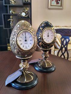 """Настольные (каминные) часы """"Наследие Фаберже"""""""