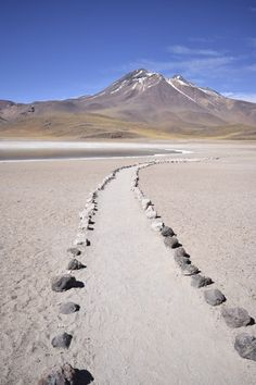 Atacama desert! Pathway to a volcano Photo by Dakota Lum — National Geographic Your Shot