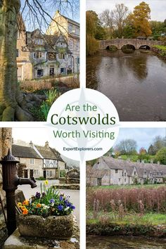 Everything you need to decide if the Cotswolds are worth visiting on your UK trip. What to see and do, plus our favorite historically significant and beautiful villages. Learn about Bourton-on-the-Water, Bilbury, Burford, Castle Combe, Braford-on-Avon, Malmesbury, and The Slaughters. Via ExpertExplorers.com | #Cotswolds #UK