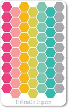 Love the vertical lines and color palette. Life Planner, Planner Ideas, Create 365, Plum Paper, Hexagon Quilt, Smash Book, Planner Stickers, Projects To Try, Palette