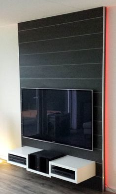 1000 images about interieur on pinterest tvs tv walls. Black Bedroom Furniture Sets. Home Design Ideas