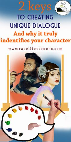 Find out these two vital keys your dialogue needs! www.raeelliottbooks.com