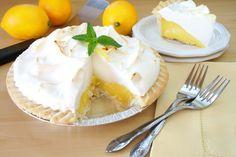 vegan lemon meringue pie with a surprise ingredient