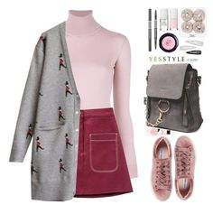 """""""YesStyle Polyvore Group """" Show us your YesStyle """""""" by beebeely-look ❤ liked on Polyvore featuring Ralph Lauren Purple Label, Steve Madden, Forever 21, Winter, ootd, cardigans and yesstyle"""