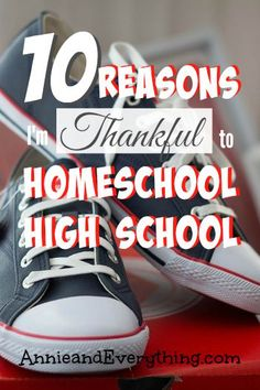 Wondering whether it will be worth it to homeschool high school? Here are 10 reasons why I think it is!