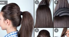Ponytails are cute, adorable and looks elegant. It is the most prominent hairstyle which can suit the occasion as well.