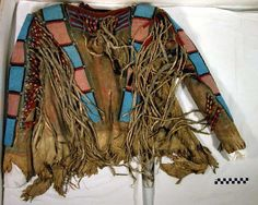 Belknap shirt, probably Gros Ventre-A'aninin.
