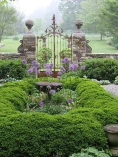 Love the gate. Would turn any yard into a grandiose garden.